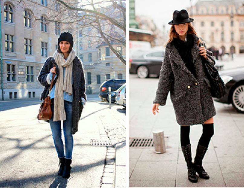 Mantel kebesaran pendek. Mantel musim dingin dan musim panas di luar negeri