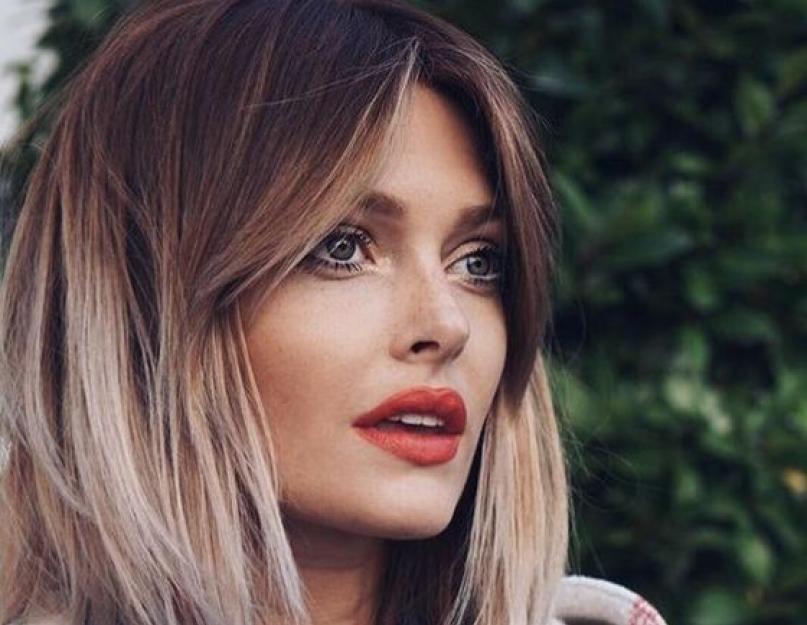 Colore capelli effetto ombre