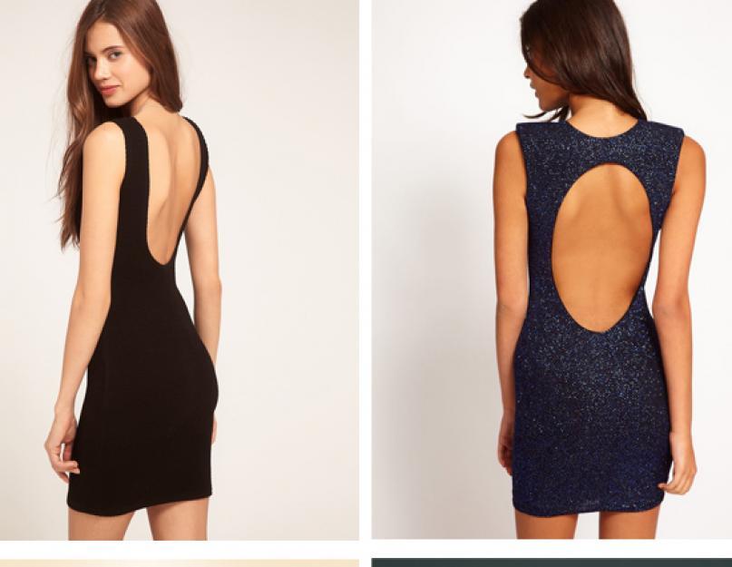 4a3dd95fa74 Как выбрать и носить платье с открытой спиной  Тренды  платья с вырезами